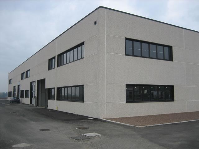 Prefabbricati industriali in cemento